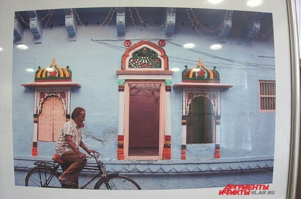 Велосипед - один из популярных средств передвижения.