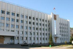Здание мэрии Архангельска.