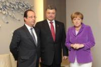 Брюссель: Порошенко, Меркель, Олланд