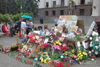Цветы у дома профсоюзов в Одессе