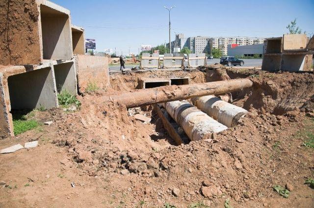 В столице Урала заменили 50 километров труб