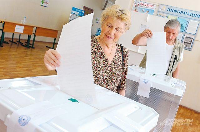 Большинство избирателей планируют проголосовать за «единороссов».