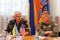 Военное командование США на встрече с руководством ВСУ