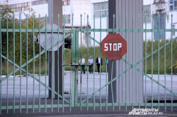 На территорию комбината пускают только работников ТЭЦ и чиновников.