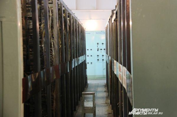 Главный щит управления ТЭЦ комбината по-прежнему работает.