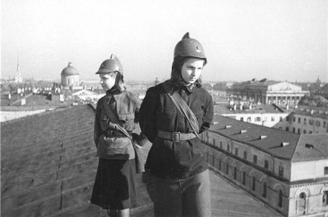 Дети войны защищали Родину наравне со взрослыми.
