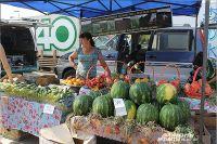 Цены на местные сельхозпродукты снижаются.