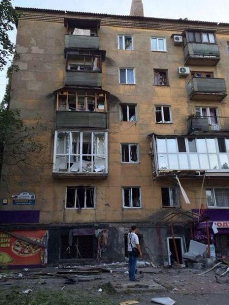 В Донецке под обстрел попали элитные дома