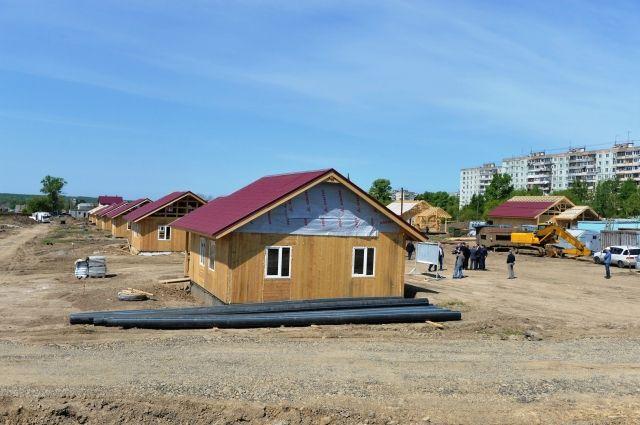 Стройплощадка в Южном округе Хабаровска - на нее, возможно, приедет министр