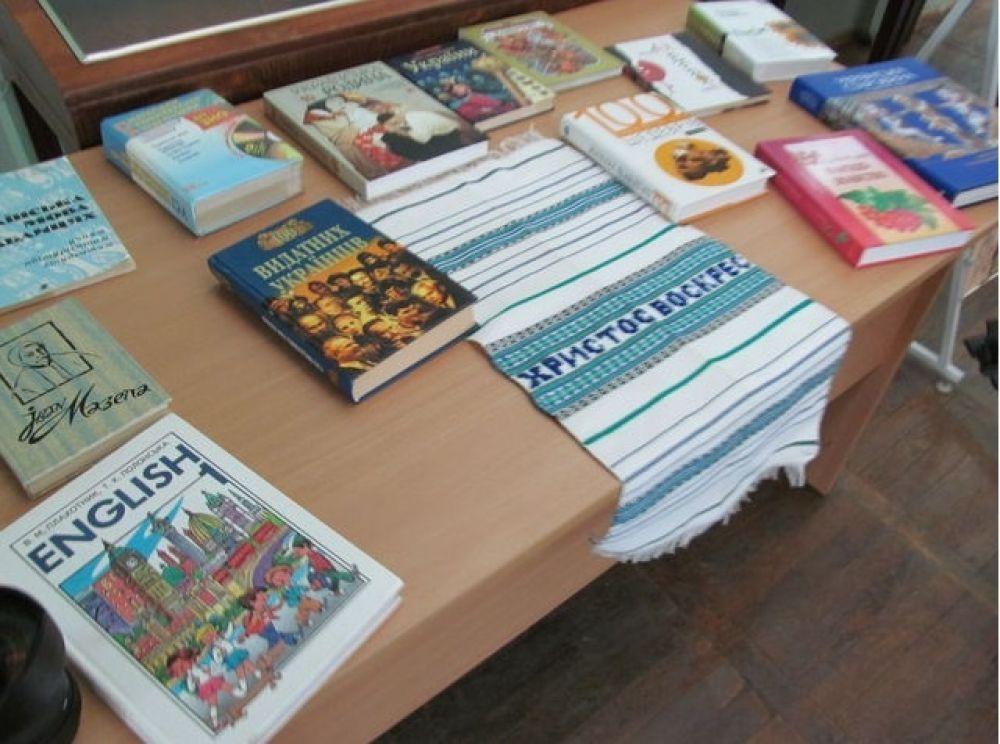 Книги для жителей освобожденных городов Донбасса на украинском языке