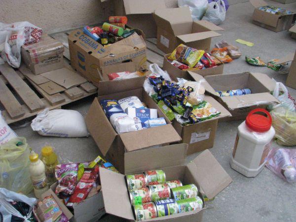Львов отправил в зону АТО 15 тонн продуктов