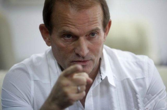 Виктор Медведчук, лидер общественного движения «Украинский выбор»