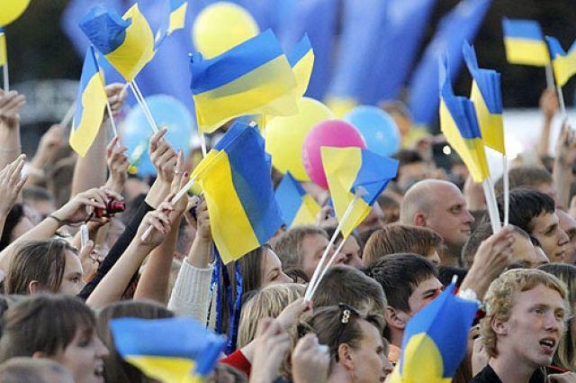 Празднование на Майдане