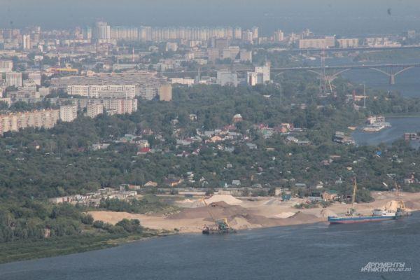 Заречная часть Нижнего Новгорода