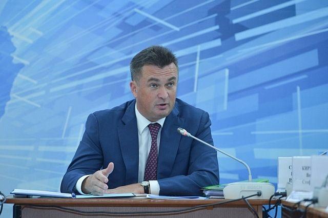 Владимир Миклушевский на выездном расширенном заседании в Пожарском районе.
