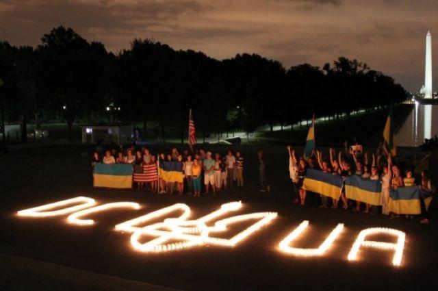 Акция «Зажги искру единства» в США