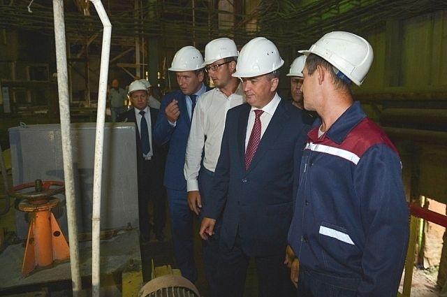 Глава Приморья на предприятии «Приморский ГОК».
