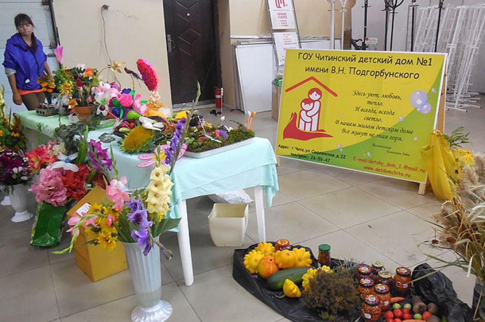 Участие в выставке приняли и образовательные учреждения края. На своих пришкольных участках они выращивают овощи.
