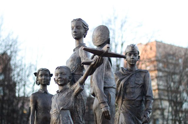 Война затронула и судьбы детей.