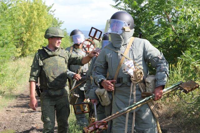 Снаряд обнаружили в 10 км от границы России
