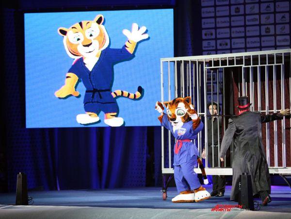 Талисман чемпионата тигрёнок