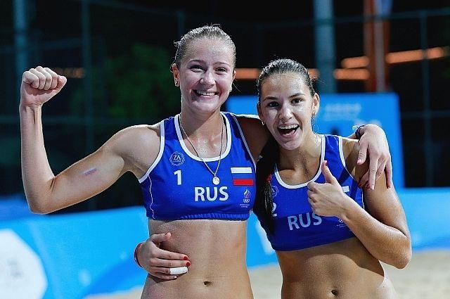 Дарья Рудых (Приморский край) и Надежда Макрогузова (Краснодар).