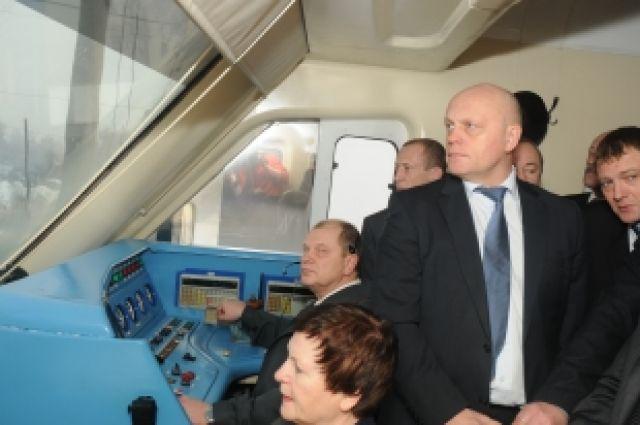 Виктор Назаров в своё время одобрил идею городской электрички.