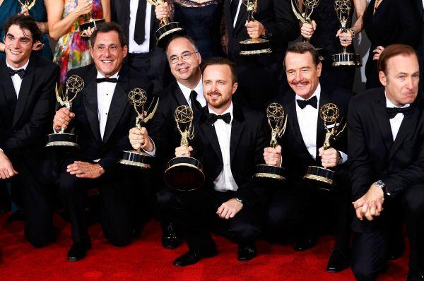 Сериал «Во все тяжкие» стал главным триумфатором церемонии, собрав пять статуэток.