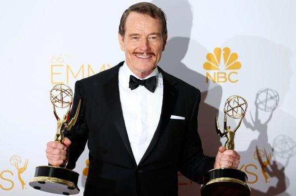 Одну из них забрал Брайан Крэнстон, получивший награду как лучший актёр в драматическом сериале.