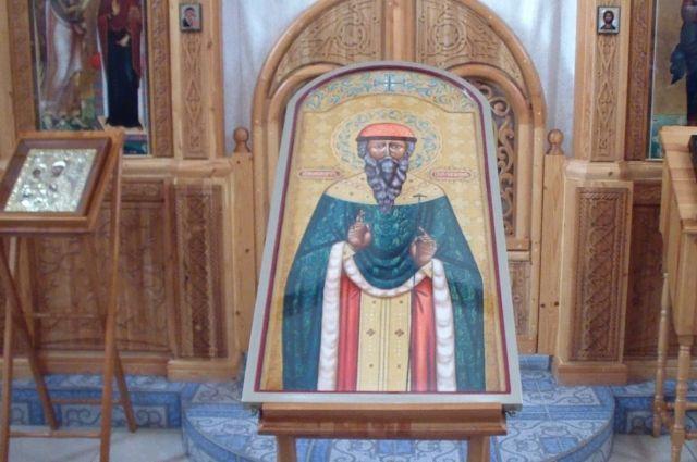 В уральском храме освятили икону, написанную осужденным