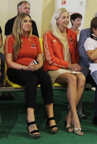 Двукратная олимпийская чемпионка по лёгкой атлетике Светлана Мастеркова и паралимпийская чемпионка по плаванию Олеся Владыкина