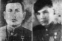 Емельян Лукич Сокол (слева) и Григорий Сокол (справа)