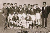 Футболисты ОППВ на сборах в Батуми. 1928 год.