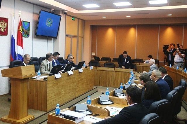 Внеочередное заседание Общественной палаты Приморского края.