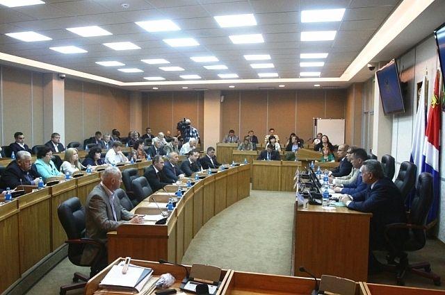 Заседание Общественной палаты Приморья.
