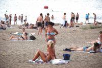 Пляжный сезон в Омской области подходит к концу.