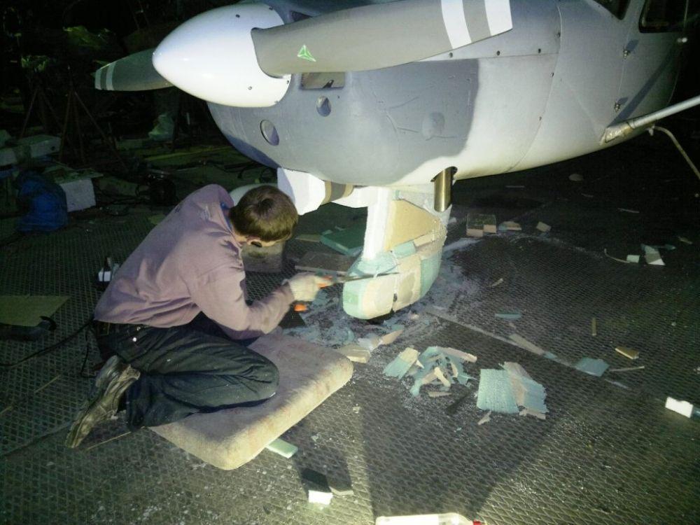 Сергей Шевчик – авиатор-любитель. Самолет он собрал собственными руками и всего за 100 000 рублей.
