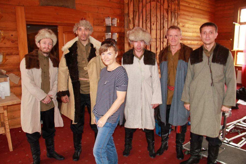 Стать актером массовки мог любой житель Ханты-Мансийска.