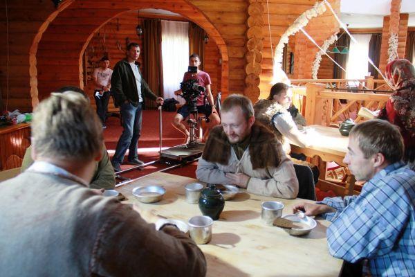 Основную часть фильма снимали в базе отдыха Добрино.