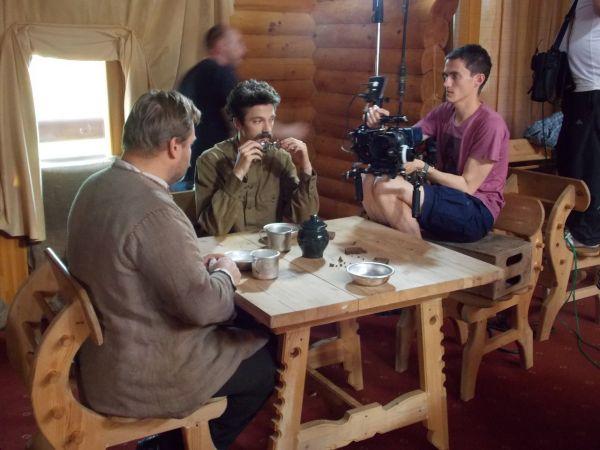 Егор Морозов пересмотрел и изучил все документальные фильмы о Троцком, чтобы вжиться в роль.