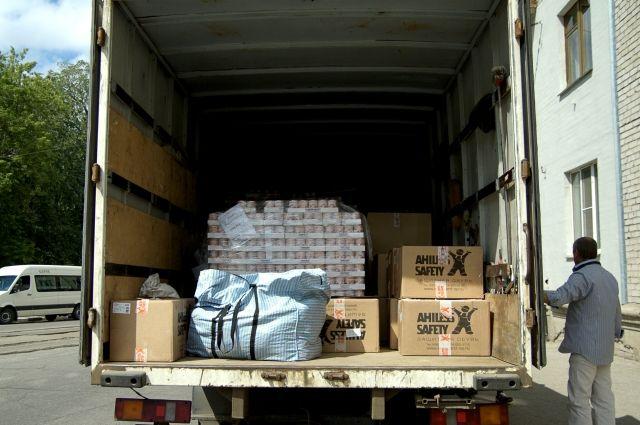 Гуманитарная помощь в Украину