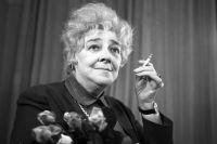 Фаина Раневская. 1967 год.