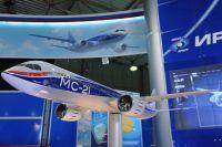 Макет ближне-среднемагистрального самолёта МС-21. 2009 год.
