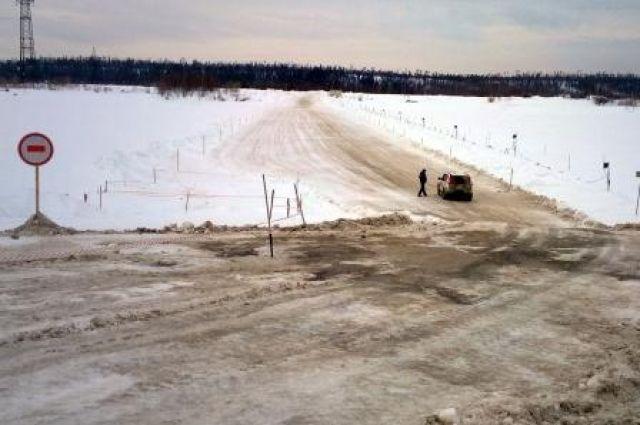 Ледовые переправы Омской области станут более прочные.