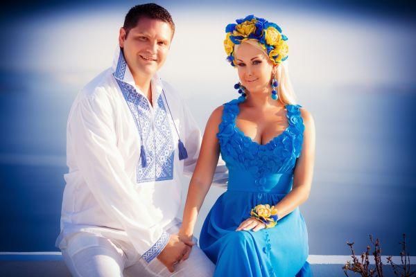 Катя Бужинская с мужем Димитаром Стойчевым