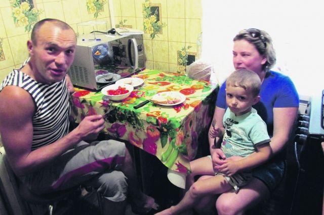 Семья Анатолия и Анны Кравченко