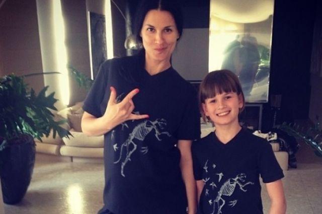 Маша Ефросинина и дочь Нана