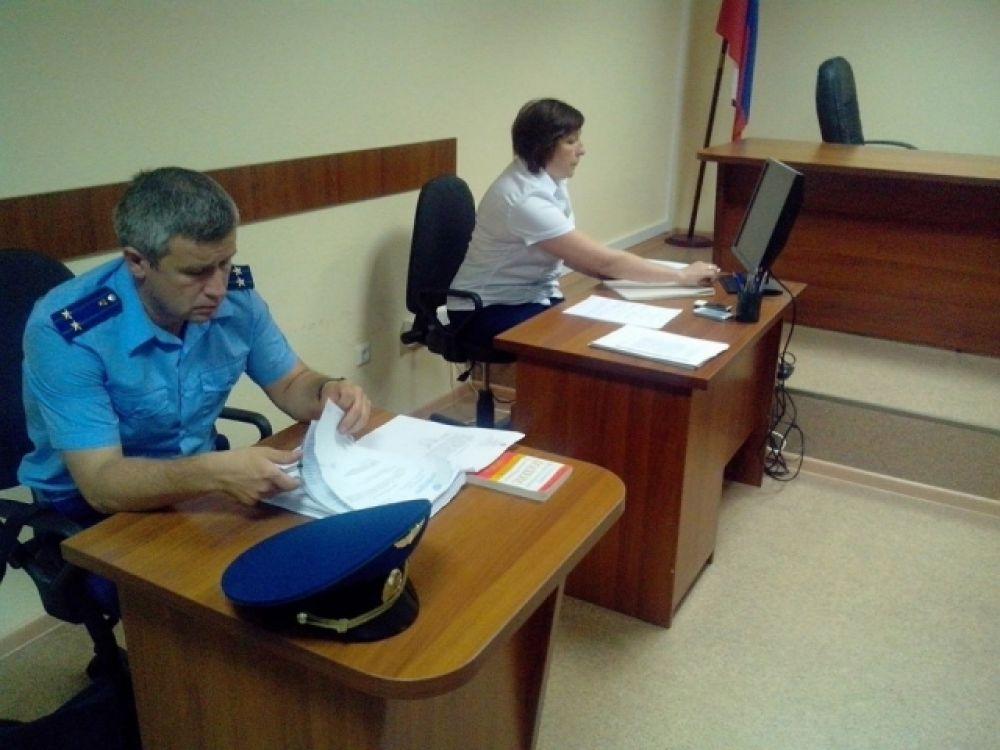 Летчица Надежда Савченко в суде РФ