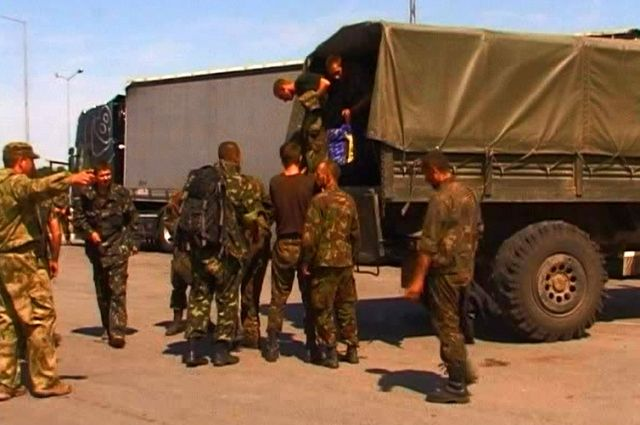 Военные из Украины спасаются от войны