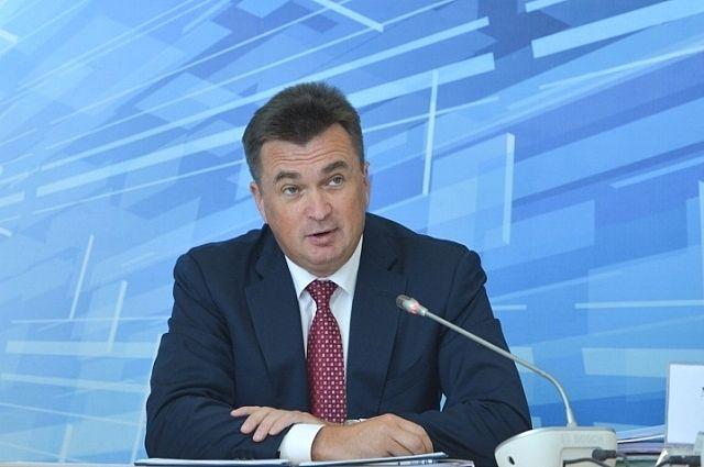 Владимир Миклушевский на встрече с жителями Ольгинского района.